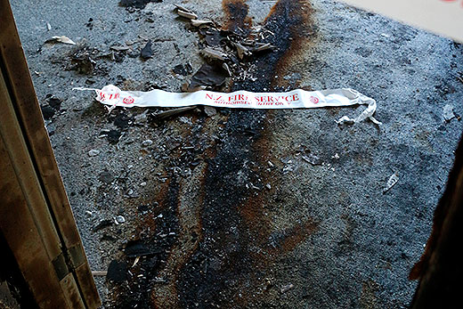 Sunlive Arson Investigation Going The Bay News First