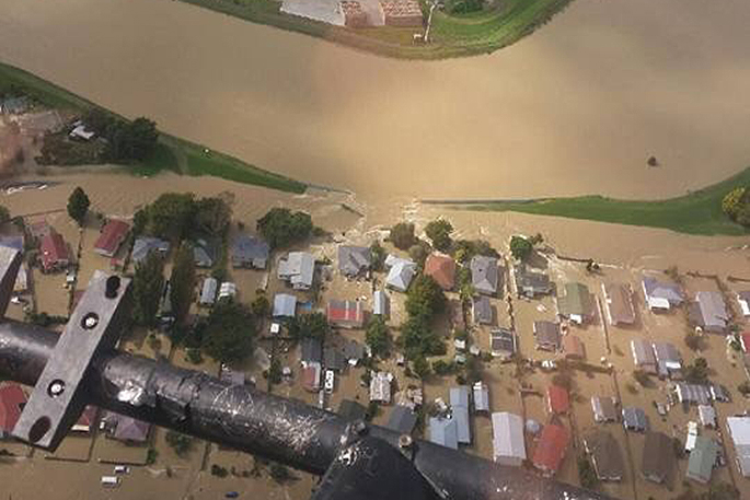 New Zealand experiencing floods