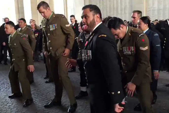 SunLive - Spine-tingling haka for WW1 fallen - The Bay's News First