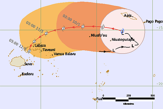 TC Ella: Fiji free from direct threat