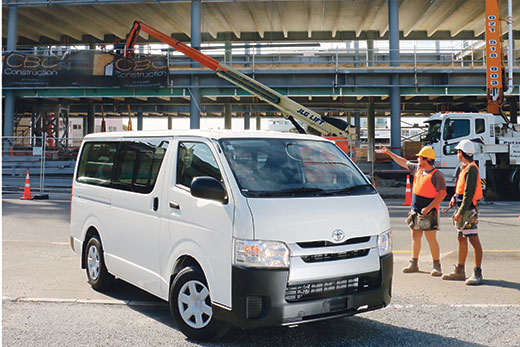 Bay Driver - A tradies' dream - Toyota Hiace ZL Van