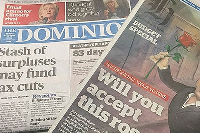 Fairfax and NZME to appeal commerce commission decision