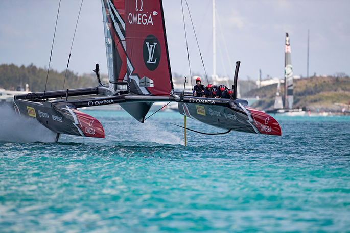 Sailing-French crew score their first America's Cup win
