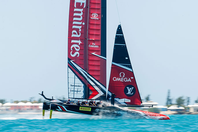 Ashby's flying start in America's Cup final