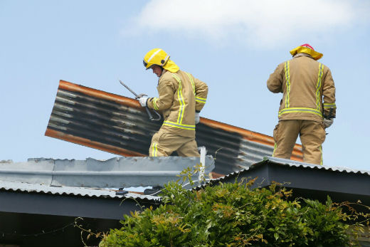 Sunlive Tauranga Roof Fire The Bay S News First