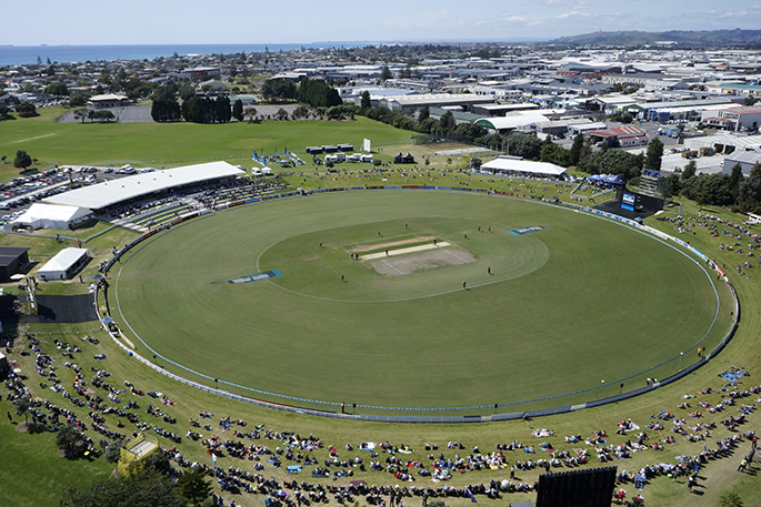 Sunlive Oval To Host World Cricket Matches The Bay S