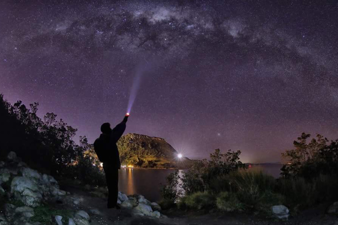 Sunlive Mount Man Captures Milky Way The Bay S News First