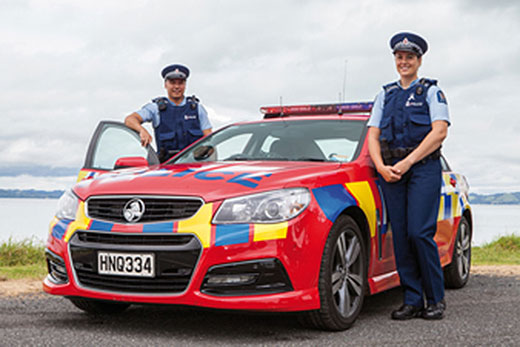 SunLive - More red police cars approved - The Bay's News First