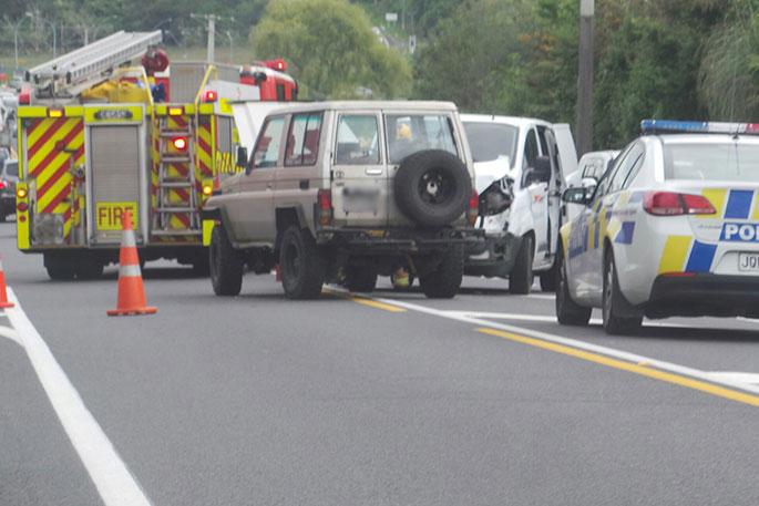 Car Crash Wairoa