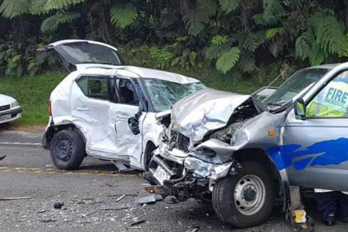 Car Crash Bay Of Plenty