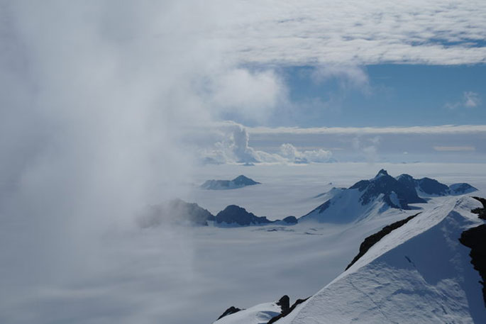 West Antarctic Ice Sheet Used To Be Smaller, But Recovered