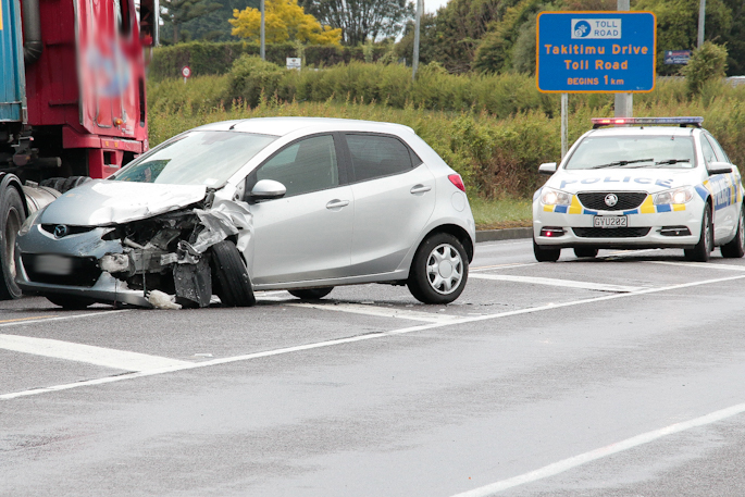 sunlive two car crash on sh29 the bay s news first