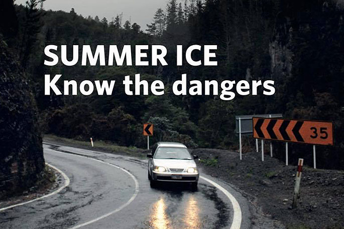 Sunlive Summer Ice Warning As Rain Threatens The Bay S