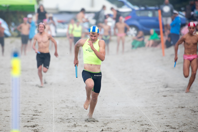 6372a5831b Waikanae's Clayden Hope anchors the under-16 men's beach relay team to a  win at the Eastern Regional championships in Gisborne today.