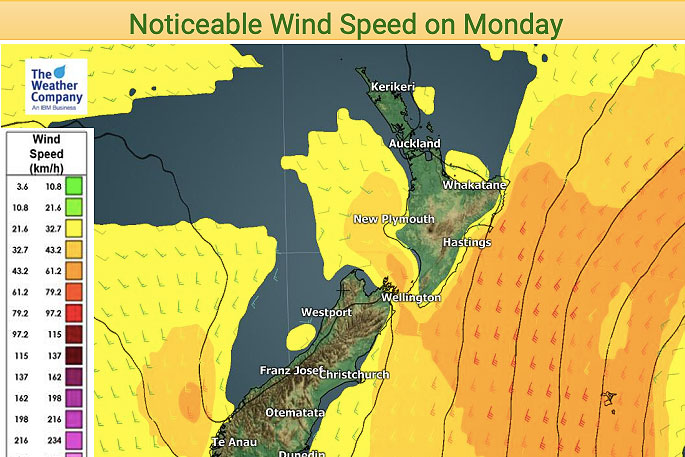Newsie - Cooler southerlies for eastern NZ - The Nation's