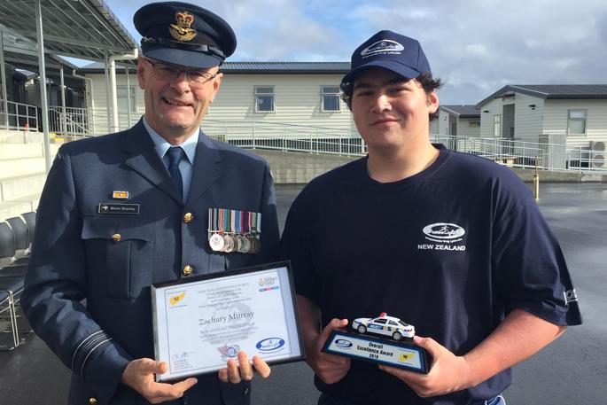 Sunlive Tauranga Teen Wins Award At Blue Light Camp The Bay S News First