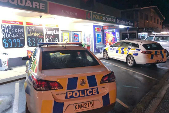 SunLive - Robbery at Bethlehem Four Square - The Bay's News