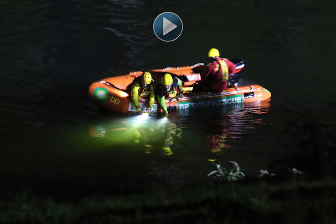 Dive squad to help search for missing person