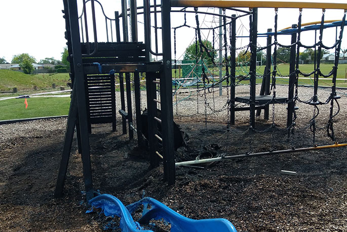 School arson not covered by MOE insurance - The Bay's News First - SunLive