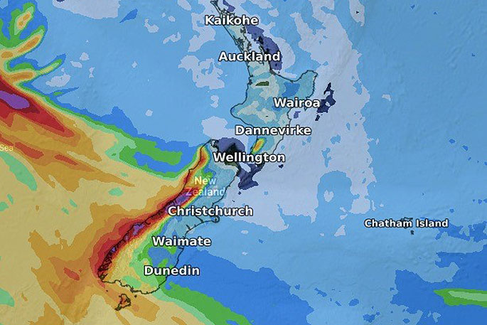 Big Dry over northern NZ increasing