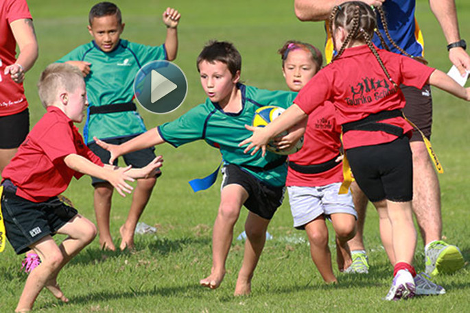 Sunlive Eastern Bay Kids To Get Rip Rugby Module The Bay S News First