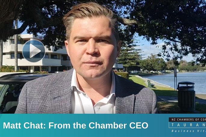Tauranga Chamber CEO discusses LTP