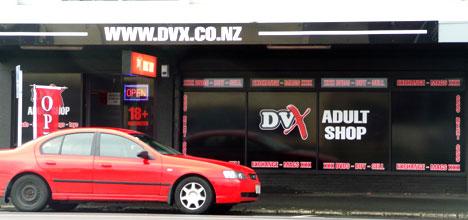 Dvx adult store