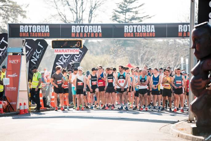 Runners descend on BOP for marathon