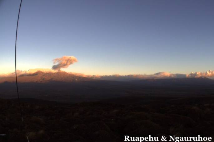Volcanic activity remains low at Mt Ruapehu